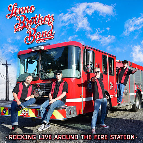 Cover: LenneBrothers Band - Rocking Live Around the Fire Station